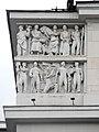 Скульптурная композиция в верхней части фасада, библиотека им. В.И.Ленина.jpg