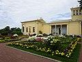 Собственный сад Александры Федоровны - хозяйки Царицына острова в Петергофе.jpg