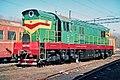 ЧМЭ3-3066, Russia, Voronezh region, Otrozhka depot (Trainpix 196497).jpg