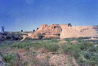 Tikrit - Image: بقايا الكنيسة السريانية ( الكنيسة الخضراء ) مدينة تكريت العراقية