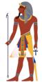 مصري يرتدي النمس الفرعوني.png
