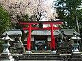 八幡神社 下市町阿知賀 2012.4.15 - panoramio.jpg