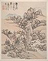 明 藍瑛 仿宋元山水圖 冊 紙本-Landscapes after Song and Yuan masters MET DP161015.jpg