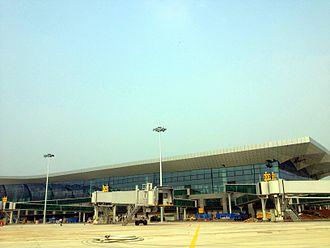Shenyang Taoxian International Airport - Apron view