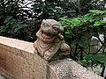 西塘石桥小狮柱头望柱.JPG