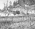 "-""Prepare to Meet God"" Arrow-Shaped Sign in Cornfield, Williamson, West Virginia- MET PH8828.jpg"