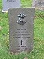 -2018-11-06 Norwegian war grave for Lars Ditmandsen, Saint Andrew's, Bacton.JPG