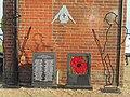 -2019-01-20 World War One 100th Commemoration memorial, Mundesley.JPG