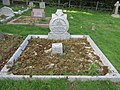 -2019-10-02 The family grave plot of Henry Blogg, his wife and daughter, Cromer town cemetery, Holt Road, Cromer.JPG
