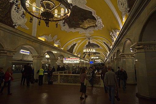 0007 - Moskau 2015 - Metrostation Komsomolskaja (25792703604)