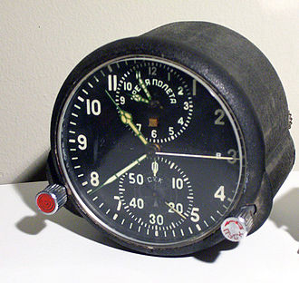 Molnija - Molnija AChS-1 cockpit chronograph