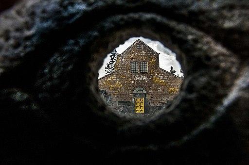 0070שחזור של בית הכנסת שבכפר התלמודי בעיר קצרין אשר ברמת הגולן.