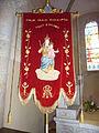007 Lanmeur Eglise paroissiale Bannière de Notre-Dame de Kernitron.JPG