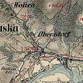 01869 Obersdorf, Galizien, Waldkarpathen, Franzisco-Josephinische Landesaufnahme (1869).jpg