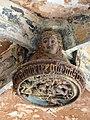049 Sant Jeroni de la Murtra, clau de volta de la galeria oest del claustre.JPG