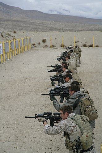 United States Marine Corps Forces Special Operations Command - Marine Raiders conduct CQB training.