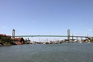 Älvsborg Bridge - Image: 090627 Älvsborgsbron