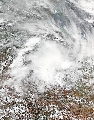 2016–17 Australian region cyclone season - Image: 10U 2017 01 09 0420Z