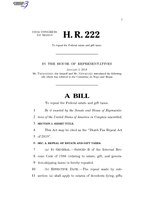 116th United States Congress H. R. 0000222 (1st session) - Death Tax Repeal Act of 2019.pdf