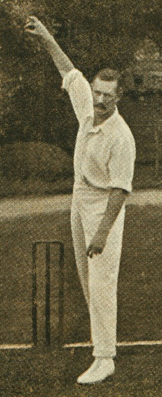 South Africa national cricket team - Reggie Schwarz, the pioneer of the googly and the 'googly revolution' in South Africa and one of the world's first great googly bowlers