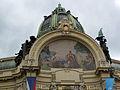 120 Obecní Dům (Casa Municipal), mosaic i cúpula.jpg