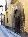 130 Casa al carrer de Sant Pere, 4 (Monistrol de Montserrat), portal.JPG