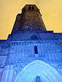 144 Catedral, portal de Sant Iu i campanar, durant el festival Llum BCN.JPG