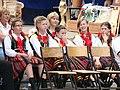 14 Bukowskie Prezentacje Folkloru Młodych Bukowsko 2009.JPG