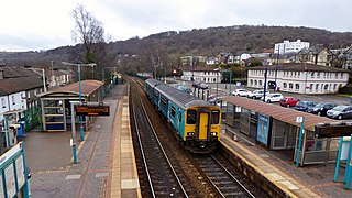 Treforest railway station