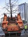 171126 Trädflyttning, Universeum, Korsvägen, Göteborg 2.jpg
