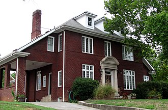 Fort Sanders, Knoxville - The Roddy House on Clinch Avenue, built circa 1912