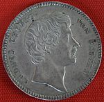 Kronentaler von 1828 LudwigI. (Quelle: Wikimedia)