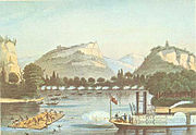 1832 Battle of Bad Axe and steamboat Warrior