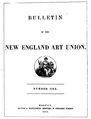 1852 Bulletin Of The NewEnglandArtUnion no1.png