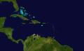 1869 Atlantic hurricane 9 track.png