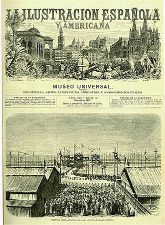 La Ilustración Española y Americana - Cover from January, 1870