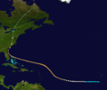 1893 Atlantic hurricane 9 track.png