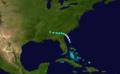 1898 Atlantic hurricane 2 track.png