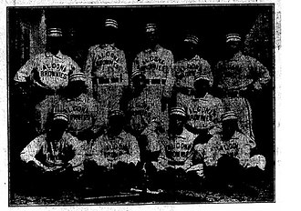 Algona Brownies - 1903 Algona Brownies