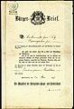 1907-05-18 Bürgerbrief Der Magistrat der Königlichen Haupt- und Residenzstadt Hannover für Bäckermeister Fritz Baumgarten und Ehefrau Karoline Buschhorn.jpg