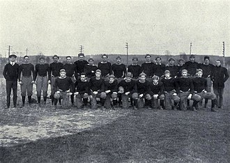 Maryland Terrapins football, 1892–1946 - The 1914 state championship-winning Maryland Agricultural football team.