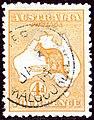 1914 4d orange Australia Kalgoorlie Yv6 wmk W2 SG6.jpg