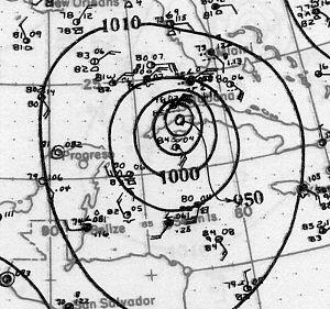 1926 Havana–Bermuda hurricane - Image: 1926 Havana hurricane 20 Oct 1926