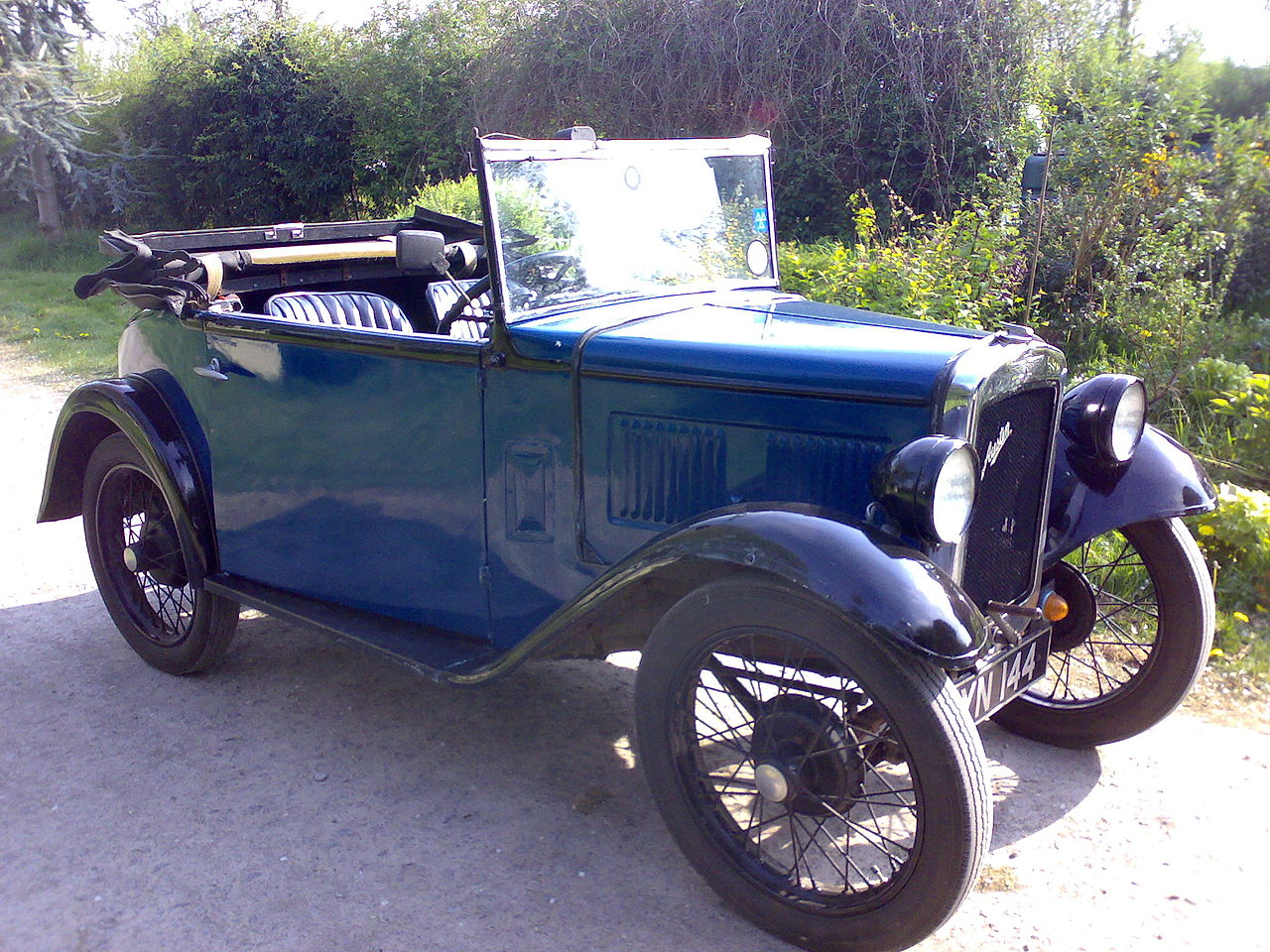 Two Seater Soft Top Sports Car