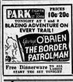 1936 - Park Theater Ad - 19 Oct MC - Allentown PA.jpg