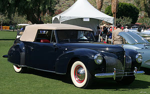 Eugene Turenne Gregorie - 1940 Lincoln-Zephyr Continental Cabriolet