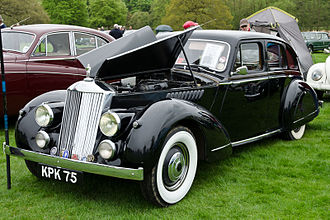 Invicta (car) - Black Prince, 1946