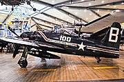 1948 Grumman F8F-2P Bearcat BuNo 121710 (C-N D.1085) (National Naval Aviation Museum) (8859139014).jpg