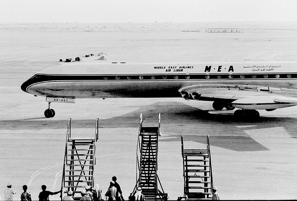 1965 Dubai Airport first Comet