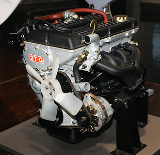 Toyota T engine - A Toyota 2T-G engine